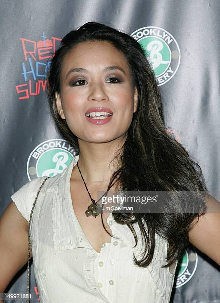 Actress Natalie Mendoza attends the Red Hook Summer premiere at the DGA Theater on August 6 2012 in New York City