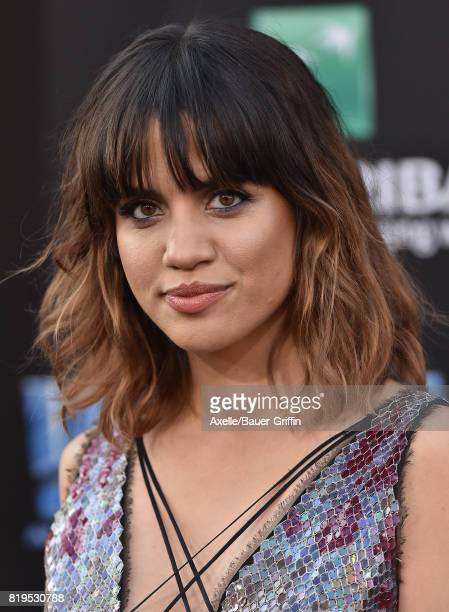 Actress Natalie Morales arrives at the Los Angeles premiere of 'Valerian and the City of a Thousand Planets' at TCL Chinese Theatre on July 17 2017...
