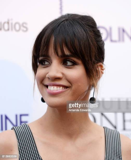 Actress Natalie Morales arrives at the premiere of Amazon Studios' Landline at the ArcLight Hollywood on July 12 2017 in Hollywood California