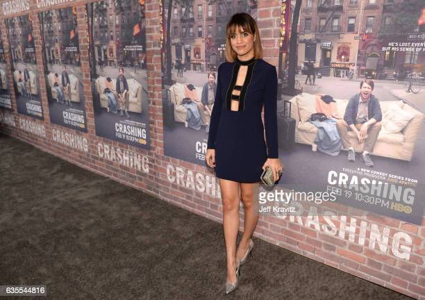 Actress Natalie Morales attends HBO's Crashing premiere and after party on February 15 2017 in Los Angeles California
