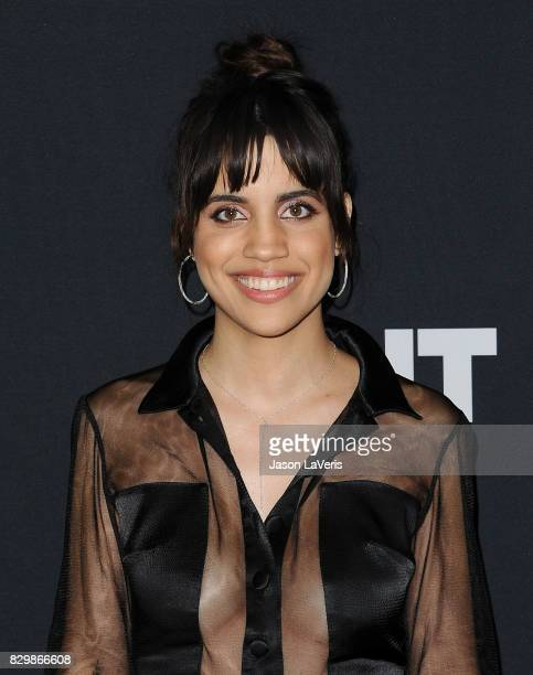 Actress Natalie Morales attends OUT Magazine's inaugural POWER 50 gala and awards presentation at Goya Studios on August 10 2017 in Los Angeles...