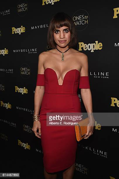 Actress Natalie Morales attends People's Ones to Watch event presented by Maybelline New York at EP LP on October 13 2016 in Hollywood California