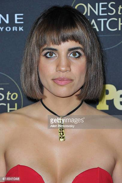 Actress Natalie Morales attends People's Ones To Watch party at EP LP on October 13 2016 in West Hollywood California