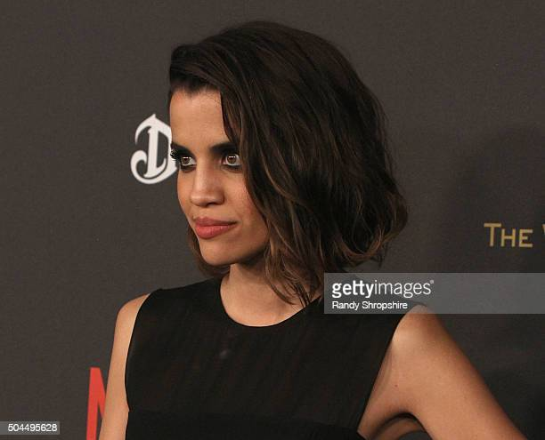 Actress Natalie Morales attends the 2016 Weinstein Company and Netflix Golden Globe Awards After Party at The Beverly Hilton on January 10 2016 in...