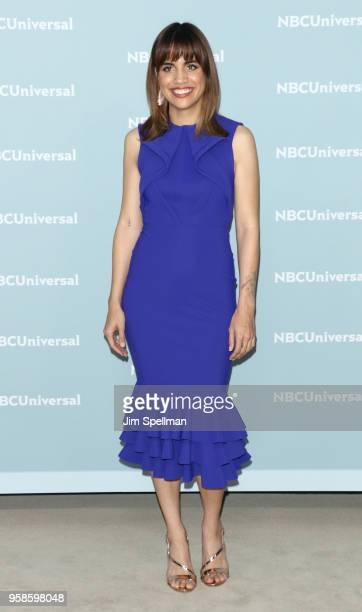 Actress Natalie Morales attends the 2018 NBCUniversal Upfront presentation at Rockefeller Center on May 14 2018 in New York City
