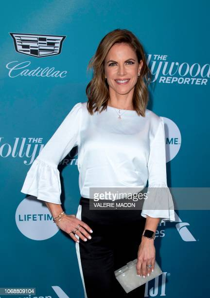 Actress Natalie Morales attends The Hollywood Reporter's Power 100 Women In Entertainment at Milk Studios in Los Angeles California on December 5 2018