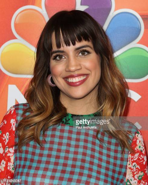 Actress Natalie Morales attends the NBC's Los Angeles midseason press junket at NBC Universal Lot on February 20 2019 in Universal City California