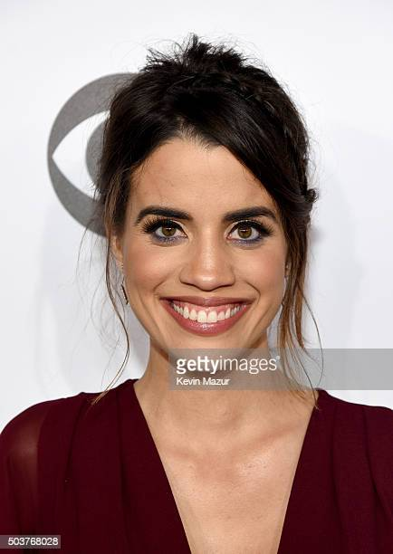 Actress Natalie Morales attends the People's Choice Awards 2016 at Microsoft Theater on January 6 2016 in Los Angeles California