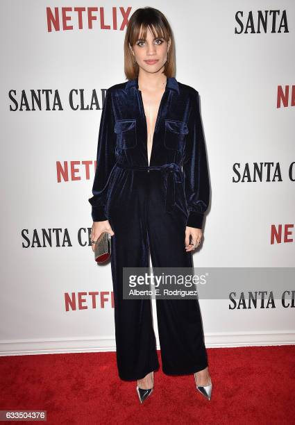 Actress Natalie Morales attends the premiere Netflix's 'Santa Clarita Diet' at ArcLight Cinemas Cinerama Dome on February 1 2017 in Hollywood...