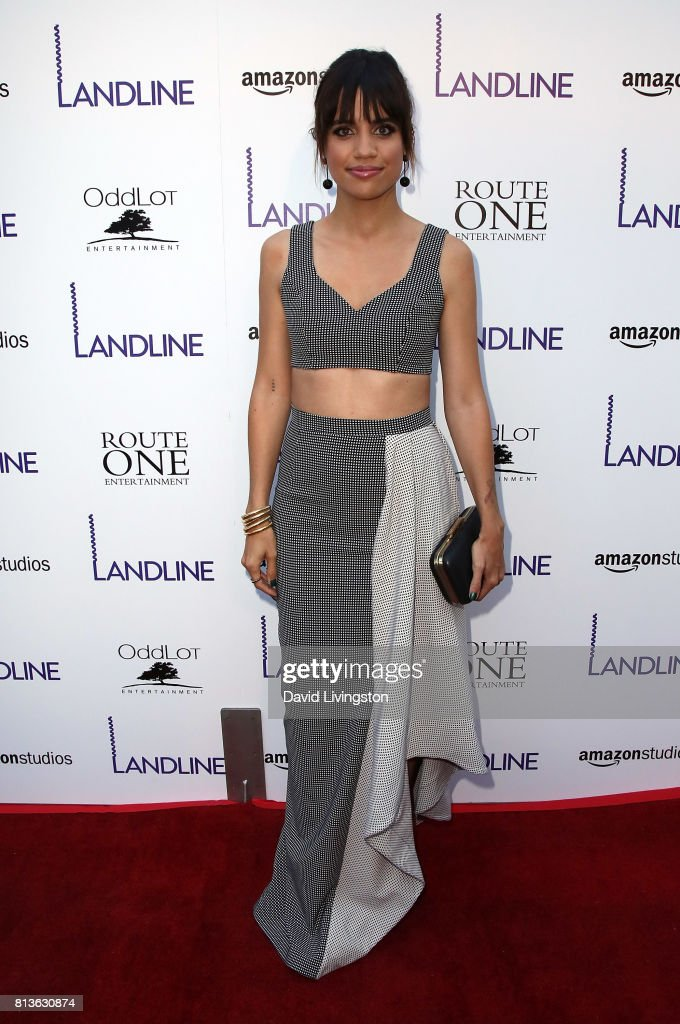 Actress Natalie Morales attends the premiere of Amazon Studios' 'Landline' at ArcLight Hollywood on July 12, 2017 in Hollywood, California.