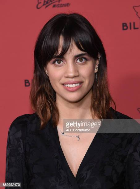 Actress Natalie Morales attends the premiere of Three Billboards Outside Ebbing Missouri at Neuehouse Hollywood in Los Angeles on November 3 2017 /...