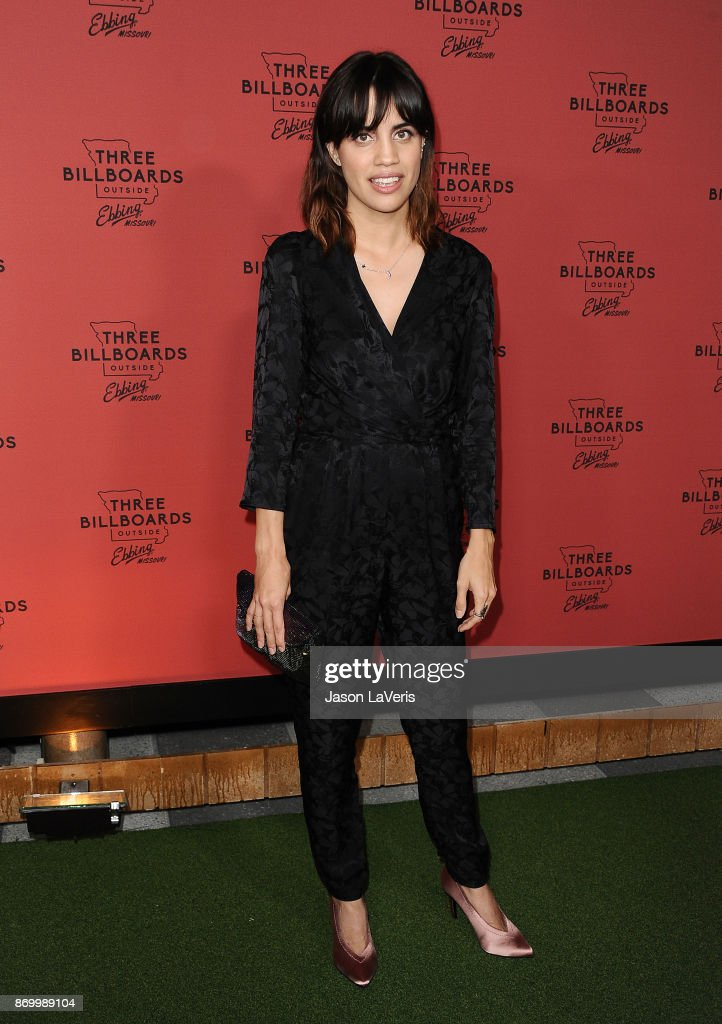 Actress Natalie Morales attends the premiere of 'Three Billboards Outside Ebbing, Missouri' at NeueHouse Hollywood on November 3, 2017 in Los Angeles, California.