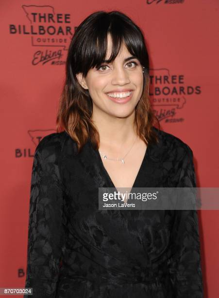 Actress Natalie Morales attends the premiere of Three Billboards Outside Ebbing Missouri at NeueHouse Hollywood on November 3 2017 in Los Angeles...