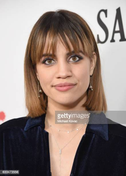 Actress Natalie Morales attends the Santa Clarita Diet Premiere on February 1 2017 in Los Angeles California