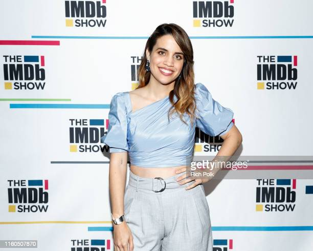 Actress Natalie Morales visits 'The IMDb Show' on June 14 2019 in Studio City California This episode of 'The IMDb Show' airs on July 8 2019