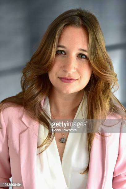 Actress Natalie Ochoa of the Nosotros cultural Organization attends the Giveback Day at TAP The Artists Project on August 8 2018 in Los Angeles...