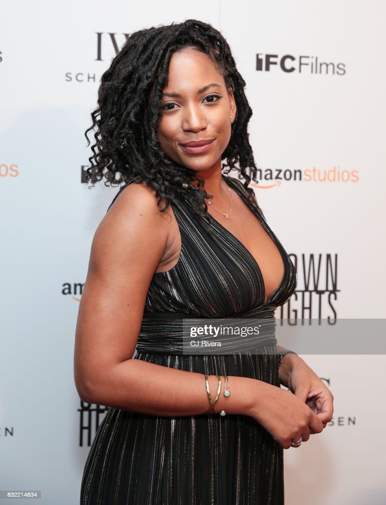 Actress Natalie Paul attends the New York premiere of 'Crown Heights' at The Metrograph on August 15, 2017 in New York City.