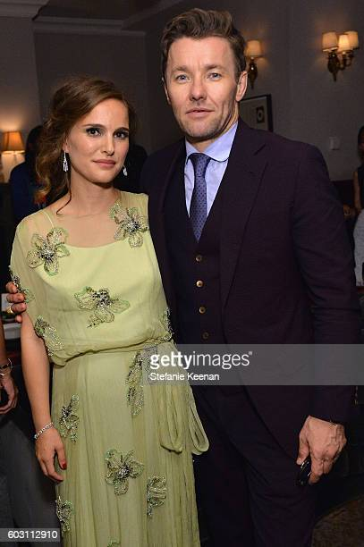 Actress Natalie Portman and actor Joel Edgerton at the Jackie TIFF party hosted by GREY GOOSE Vodka and Soho House Toronto on September 11 2016 in...