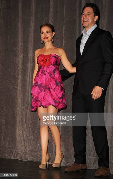 Actress Natalie Portman and actor Scott Cohen attend the 'Love And Other Impossible Pursuits' Premiere held at the Roy Thomson Hall during the 2009...