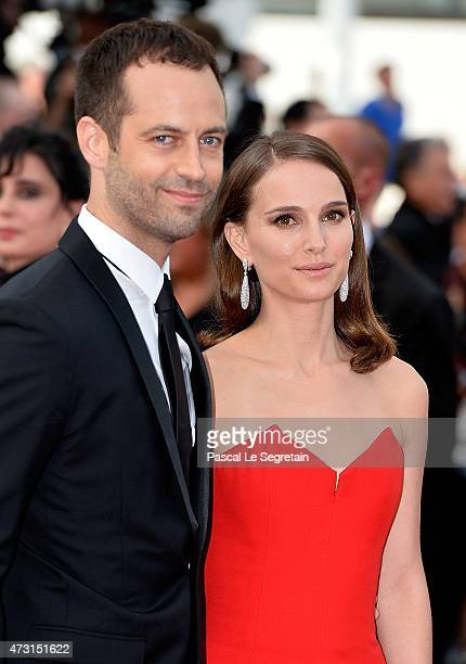 Actress Natalie Portman and choreographer Benjamin Millepied attends the opening ceremony and premiere of 'La Tete Haute' during the 68th annual...