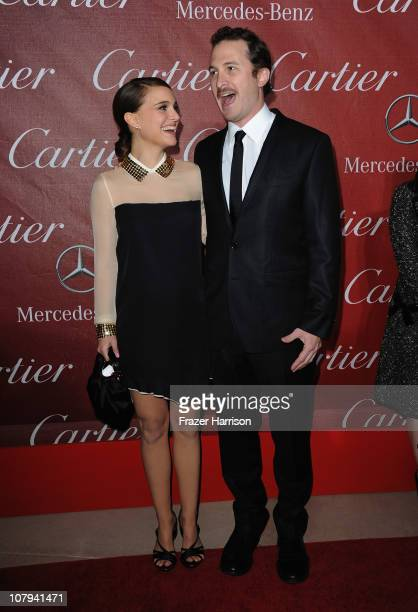 Actress Natalie Portman and director Darren Aronofsky arrives at the 2011 Palm Springs International Film Festival Awards Gala at the Palm Springs...