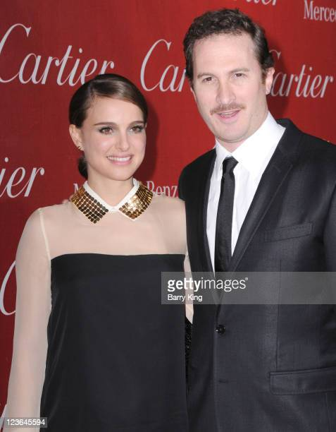Actress Natalie Portman and director Darren Aronofsky arrives at the 22nd Annual Palm Springs International Film Festival Awards Gala at Palm Springs...