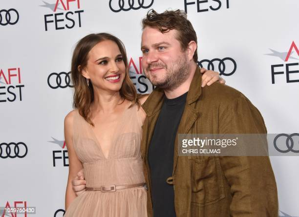 Actress Natalie Portman and director/writer Brady Corbet arrive for the AFI special screening of Vox Lux at the Egyptian theatre in Hollywood on...