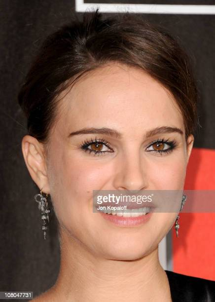 Actress Natalie Portman arrives at the 16th Annual Critics' Choice Awards at the Hollywood Palladium on January 14 2011 in Los Angeles California