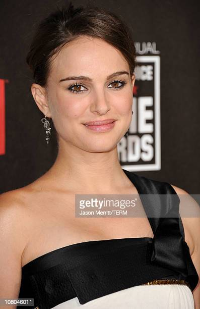 Actress Natalie Portman arrives at the 16th annual Critics' Choice Movie Awards at the Hollywood Palladium on January 14 2011 in Los Angeles...