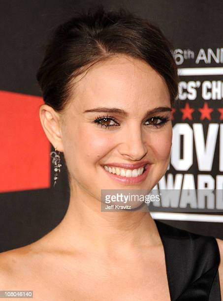 Actress Natalie Portman arrives at the 16th Annual Critics' Choice Movie Awards at the Hollywood Palladium on January 14, 2011 in Los Angeles,...
