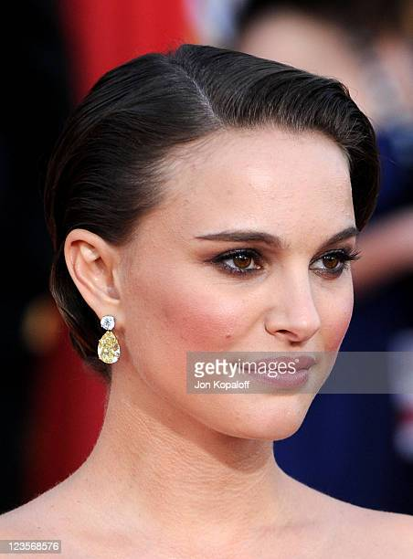 Actress Natalie Portman arrives at the 17th Annual Screen Actors Guild Awards at The Shrine Auditorium on January 30 2011 in Los Angeles California