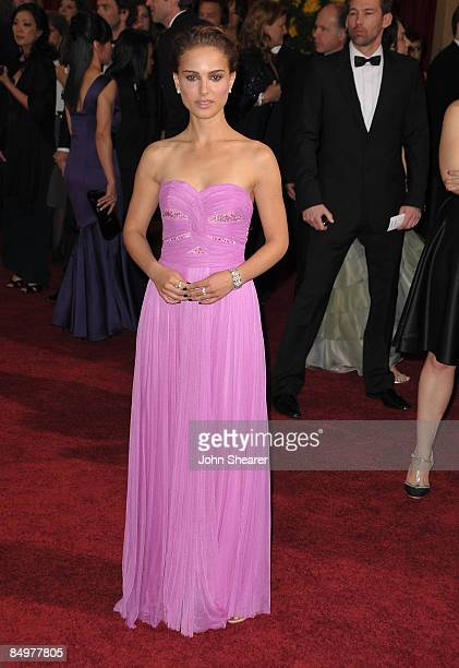 Actress Natalie Portman arrives at the 81st Annual Academy Awards held at The Kodak Theatre on February 22 2009 in Hollywood California