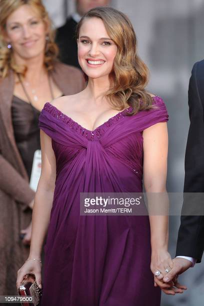 Actress Natalie Portman arrives at the 83rd Annual Academy Awards held at the Kodak Theatre on February 27 2011 in Hollywood California
