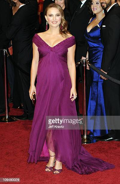 Actress Natalie Portman arrives at the 83rd Annual Academy Awards held at the Kodak Theatre on February 27 2011 in Los Angeles California
