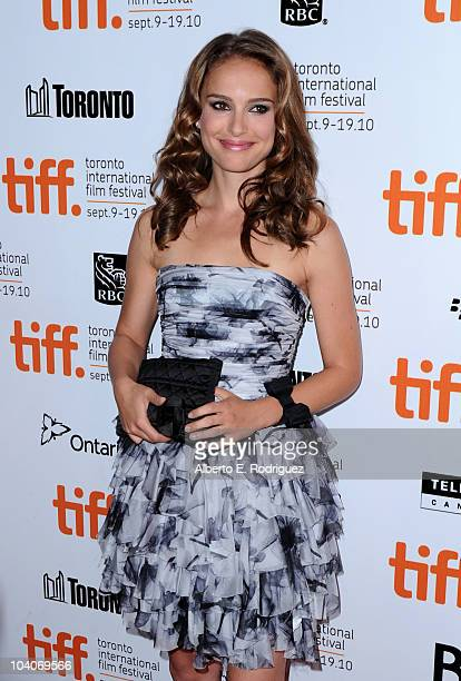 Actress Natalie Portman arrives at the Black Swan Premiere held at Roy Thomson Hall during the 35th Toronto International Film Festival on September...