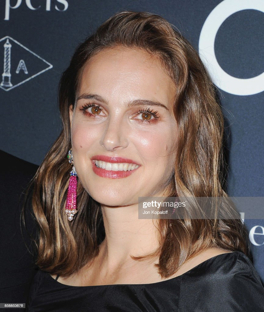 Actress Natalie Portman arrives at the L.A. Dance Project's Annual Gala at L.A. Dance Project on October 7, 2017 in Los Angeles, California.