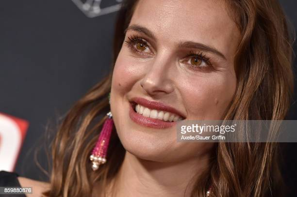 Actress Natalie Portman arrives at the LA Dance Project's Annual Gala at LA Dance Project on October 7 2017 in Los Angeles California