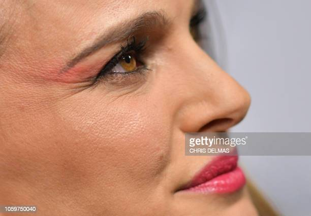 Actress Natalie Portman arrives for the AFI special screening of Vox Lux at the Egyptian theatre in Hollywood on November 9 2018