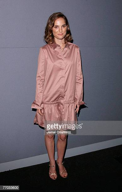 Actress Natalie Portman At The Hotel Chevalier Screening At The Apple Store Soho On September 25