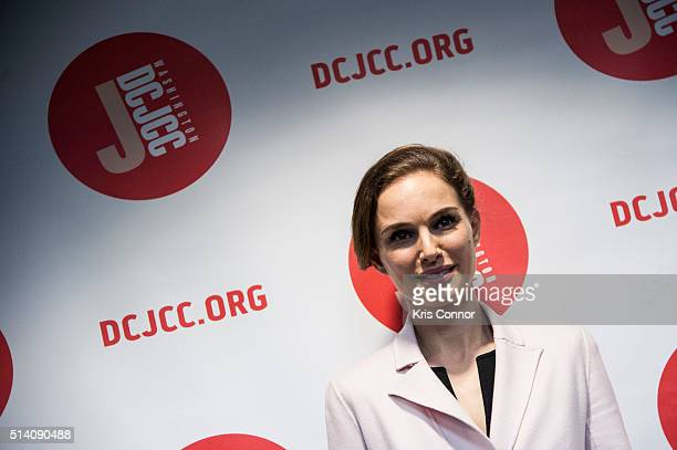 """Actress Natalie Portman attends a screening of """"A Tale of Love and Darkness"""" at AFI Silver Theater on March 6, 2016 in Silver Spring, Md."""