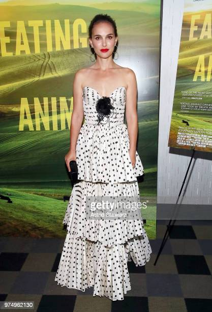 Actress Natalie Portman attends Eating Animals New York Screening at IFC Center on June 14 2018 in New York City