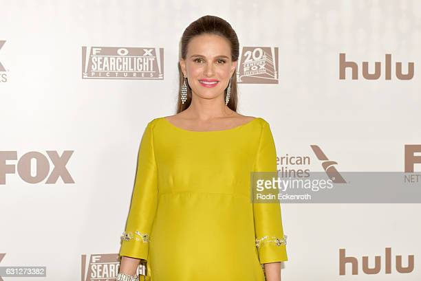 Actress Natalie Portman attends FOX and FX's 2017 Golden Globe Awards after party at The Beverly Hilton Hotel on January 8 2017 in Beverly Hills...