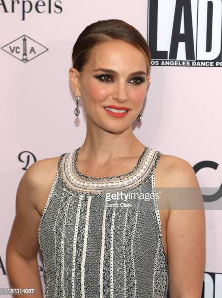 Actress Natalie Portman attends the 2019 LA Dance Project Gala, Cocktail Hour Hosted by Dom Pérignon at Hauser & Wirth on October 19, 2019 in Los...