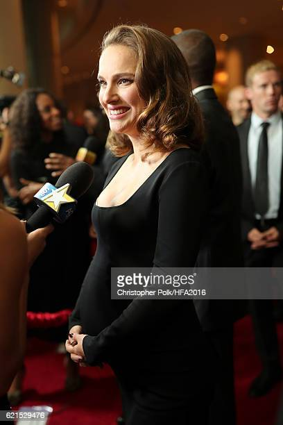 Actress Natalie Portman attends the 20th Annual Hollywood Film Awards at The Beverly Hilton Hotel on November 6 2016 in Beverly Hills California