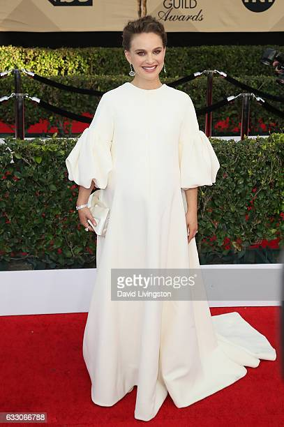 Actress Natalie Portman attends the 23rd Annual Screen Actors Guild Awards at The Shrine Expo Hall on January 29 2017 in Los Angeles California