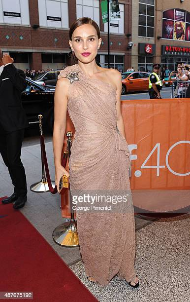 Actress Natalie Portman attends the 'A Tale Of Love And Darkness' premiere during the 2015 Toronto International Film Festival at the Winter Garden...