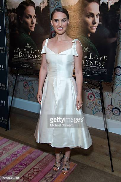 Actress Natalie Portman attends the 'A Tale Of Love Darkness' New York premiere at Crosby Street Hotel on August 15 2016 in New York City