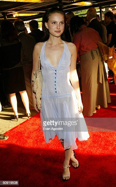 Actress Natalie Portman attends the Alvin Ailey Dance Foundation gala benefit June 2 2004 at the Apollo Theater in New York City