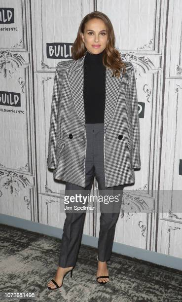 Actress Natalie Portman attends the Build Series to discuss at Build Studio on December 13 2018 in New York City
