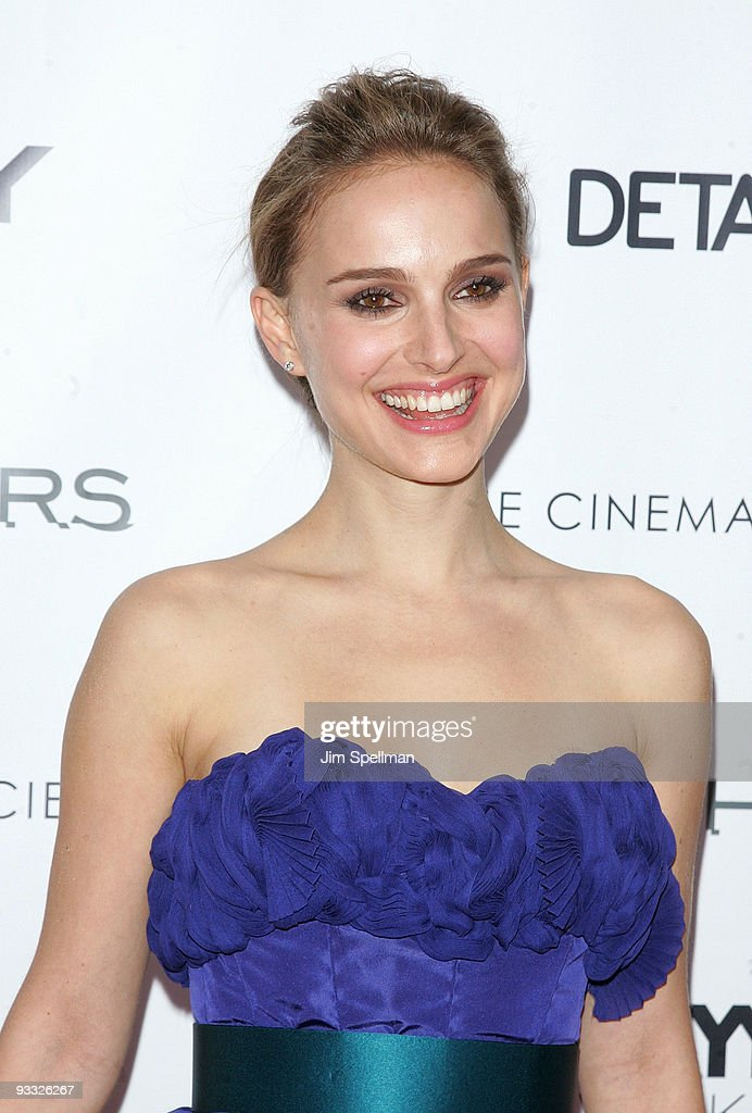Actress Natalie Portman attends the Cinema Society and DKNY Men screening of 'Brothers' at the SVA Theater on November 22, 2009 in New York City.